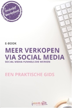 E-boek Meer verkopen via social media